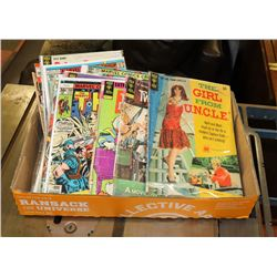FLAT OF UNSEARCHED COLLECTOR COMICS