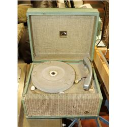 ANTIQUE RECORD PLAYER VICTROLA