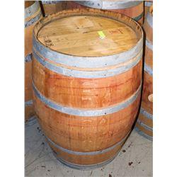 LOGOED POLISHED RED WINE BARREL 59 GAL SYLVAIN