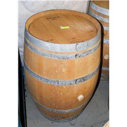 LOGOED POLISHED RED WINE BARREL 59 GAL TOREVIL