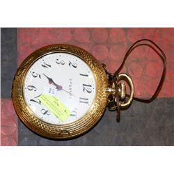 SPARROW OVERSIZED NOVELTY POCKET WATCH STYLE CLOCK