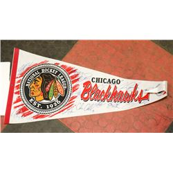 1995 CHRIS CHELIOS TEAM AUTOGRAPHED BLACK HAWKS