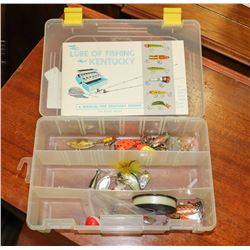 BOX OF ESTATE FISHING LURES