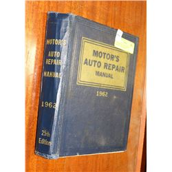 1962 MOTORS AUTO REPAIR MANUAL. ALL MAKES