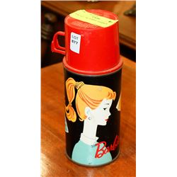 VINTAGE 1962 BARBIE THERMOS