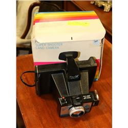 POLAROID LAND CAMERA WITH BOX
