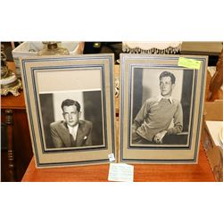 PAIR OF HOLLYWOOD PICTURES ACTOR FREY BROWN