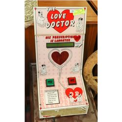 LOVE DOCTOR COIN OPERATED COUNTER TOP MACHINE