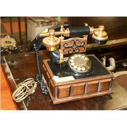 VINTAGE ROTARY CRADLE PHONE