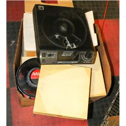 BOX W/VINTAGE KODAK CAROUSEL 5200