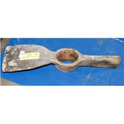 ANTIQUE RAILROAD PICKAXE HEAD STAMPED CNR.