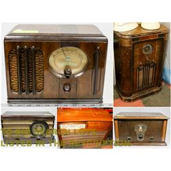FEATURED LOT: VINTAGE & ANTIQUE RADIOS & STEREOS