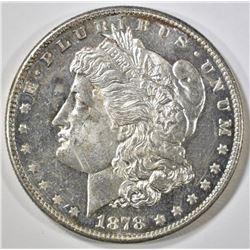1878-S MORGAN DOLLAR CH BU PL