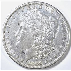 1886-S MORGAN DOLLAR BU CLEANED