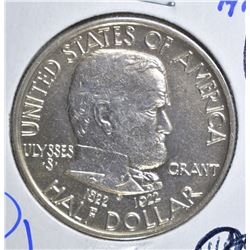 1922 GRANT COMMEM HALF DOLLAR  CH BU