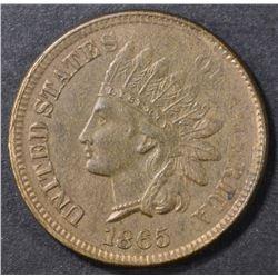 1865 INDIAN HEAD CENT  CH BU