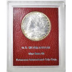1901-O MORGAN DOLLAR  PIC RED LABEL  GEM BU