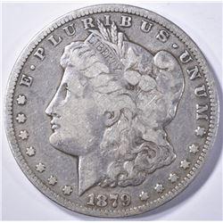 1879-CC MORGAN DOLLAR  F/VF