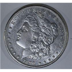 1890-CC MORGAN DOLLAR  CH AU