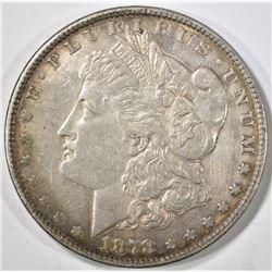 1878 7 TF REV 78 MORGAN DOLLAR, XF/AU