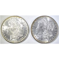 1885-O, 88 MORGAN DOLLARS CH BU