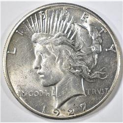 1927 PEACE DOLLAR  CH BU