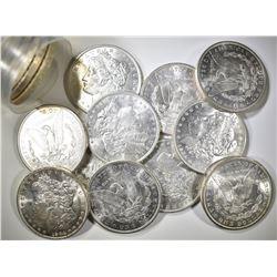 1904-O ROLL OF MORGAN DOLLARS  CH BU