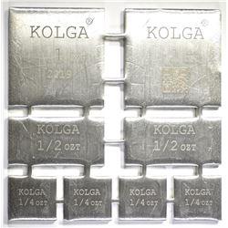 KOLGA 4-OUNCE  99.9 SILVER COMBO