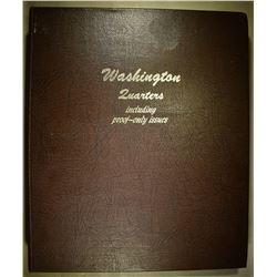 PARTIAL SET WASHINGTON QUARTERS 1950-88 MOSTLY BU