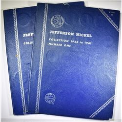 (2) 1938-61-D CIRC JEFFERSON NICKEL SETS