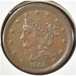 1855 BRAIDED HAIR MATRON HEAD