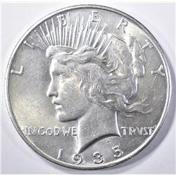 1935 PEACE DOLLAR   CH BU