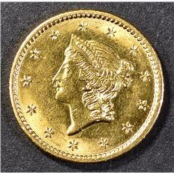 1849 $1.00 GOLD CH BU