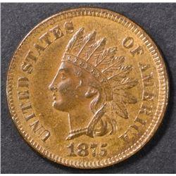 1875 INDIAN CENT BU BN