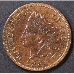 1884 INDIAN CENT BU BN