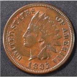 1885 INDIAN CENT XF/AU
