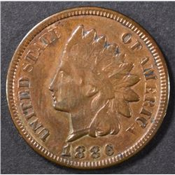 1886 INDIAN CENT VF