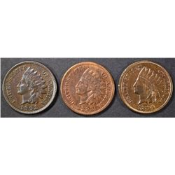3 INDIAN CENTS
