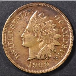 1909-S INDIAN CENT XF
