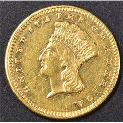 1861 GOLD DOLLAR BU