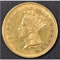 1862 GOLD DOLLAR BU