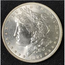1887 USA Silver Dollar