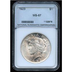 1923 USA Silver Dollar