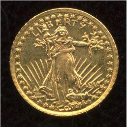 USA $20 Eagle 14kt Gold Mini Coin