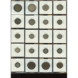 Straits Settlements - Lot of 20 Coins