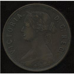 1888 Newfoundland One Cent