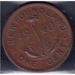 Newfoundland 1940 1 Cent