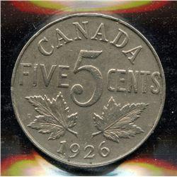 1926 Five Cents
