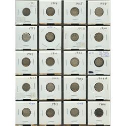 Ten Cents - Lot of 20 Coins