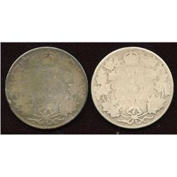 1904 & 1905 Fifty Cents